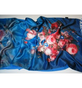 Cashmere & Silk Scarf (2 Layer, 2 Sided)